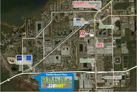 Map Ft Myers Fl Sanibel Beach Place Phillips Edison U0026 Company