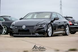 volkswagen arteon gets air suspension and porsche cayenne wheels