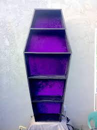 coffin bookshelf coffin bookshelf