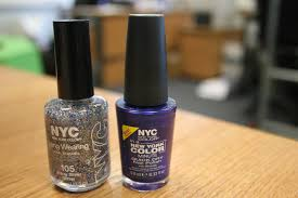win one of 5 sets of nyc nail polish in starry silver glitter and