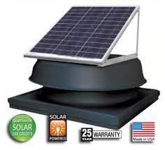 solar attic fan alternative energy america