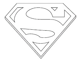 superman logo coloring pages coloring pages kids