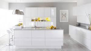 white gloss kitchen ideas gloss white kitchen normabudden