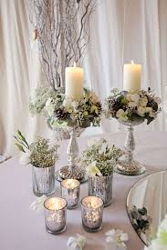 Silver Wedding Centerpieces by 35 Innovative Winter Table Decorations