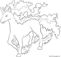 print 078 rapidash pokemon coloring pages walmarttips