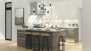 table de cuisine contemporaine cuisine contemporaine design armoires de cuisine moderne 100 mile