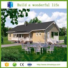 heya superior quality modern luxury prefab small villa design