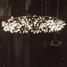 Led Pendants Lights Modern Circle Tree Branch Led Pendant Light Creative Personality