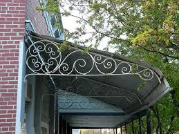 Decorative Metal Awnings Awning Canopy Marquise Mesker Brothers