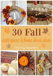 fall centerpieces 30 fall centerpieces and home decor ideas frugal farm