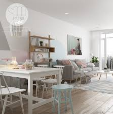 scandinavian interior three inspirational scandinavian interiors achieving pastel perfection