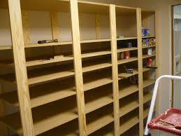 Wood Storage Shelves Plans by Food Storage Shelves I Havent Seen Any Diy Plans Storage Room