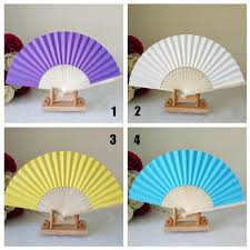 custom paper fans personalized gift wedding fans paper bamboo custom name or