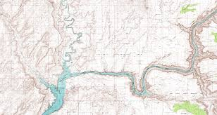 Topographical Map Of Utah by Fred U0027s Guide To Lake Powell Hite