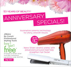 Conair Hair Dryer Macy S sally supply buy one get one free specials styling tools and