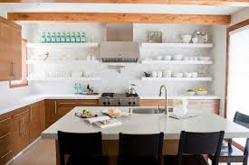 open shelving private residence contemporary kitchen salt lake city by