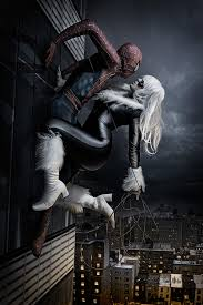 spider man u0026 black cat behance