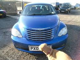 used chrysler pt cruiser blue for sale motors co uk
