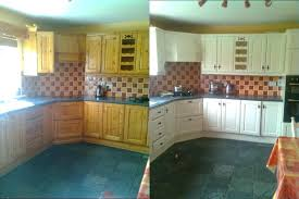kitchen cabinet painting contractors before and after kitchen cabinet painting before after kitchen