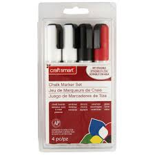 How To Get Marker Off Walls by Craft Smart Chalk Marker Set Commercial