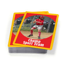 custom sports cards for your team