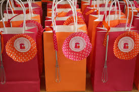 Baking Favors by Baking Birthday Circle Favor Tags By Bellagreydesigns