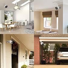 interior home security cameras zmodo 8ch smart poe surveillance system 4 x720p outdoor 4
