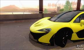 mclaren p1 side view mclaren p1 epm for gta san andreas