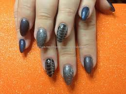 orange blue nail designs gallery nail art designs