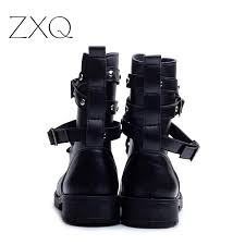 fashion motorcycle boots sale fashion women motorcycle boots ladies vintage rivet combat
