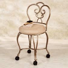 Vintage Vanity Chair Furniture Popular Design Bathroom Vintage Vanity Chair With Wheels