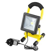 Portable Work Light Beeway New Version 10w Flat Rechargeable Led Portable Work