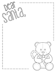 letter to santa template printable black and white santa letter free printable m is for monster
