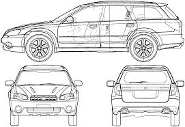nissan skyline drawing outline car subaru legacy outback 2005 the photo thumbnail image of
