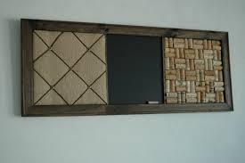french memo board wine cork board u0026 chalkboard kitchen wall