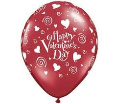 valentines baloons happy s day balloons qualatex 11 inch