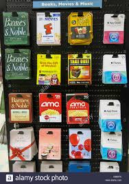 prepaid gift cards prepaid gift cards display usa stock photo 74549683 alamy
