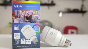 Led Night Light Bulb by Lifx Color 1000 Smart Led Light Bulb Review U0026 Setup Youtube