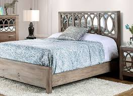 Mirror Bed Frame Zaragoza Bedroom Collection Cm7585