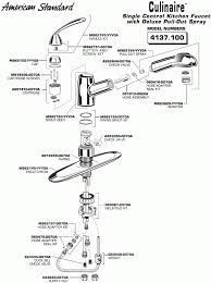 moen kitchen faucet removal single handle how to repair a moen single handle kitchen faucet with spray hose