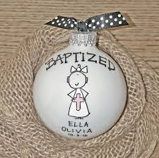 personalized baptism ornament baptism ornament cross ornament girl baptism ornament girl