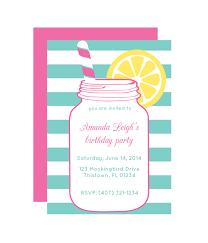 party invitations jar party invitation chicfetti