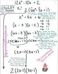the secondary classroom can be fun too factoring trinomials