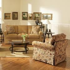 broyhill furniture audrey chair and ottoman with skirt wayside