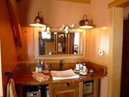 Rustic Vanity Mirror Rustic Lighting Solutions For Timber Frame Homes Blog