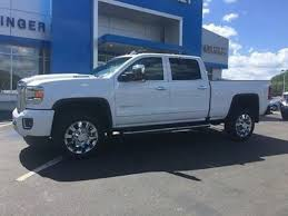 lifted white gmc 2017 gmc sierra 2500 hd crew cab in pennsylvania for sale used