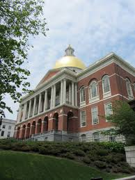 massachusetts state house legislative building in boston
