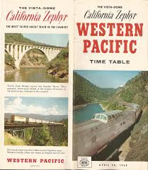California Zephyr Route Map by Amtrak California Zephyr Predecessor From Western Pacific