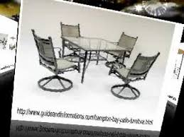 Replacement Glass For Patio Table Hampton Bay Patio Furniture Replacement Glass Youtube