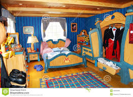 Mickey Mouse Bedroom Furniture by Mickey Mouse U0027s Bedroom At Disneyworld Editorial Stock Photo